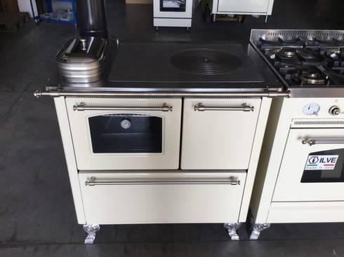 Cucina n 5 tradizionale e gas ilve da 90 x 60 di zadra - Cucina a gas da 90 ...