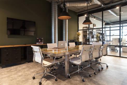 Industriele Interieur Inrichting : Industriële inrichting kantoor nijmegen door bob romijnders