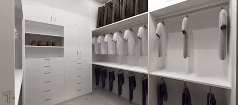 modern Dressing room by TAMEN arquitectura