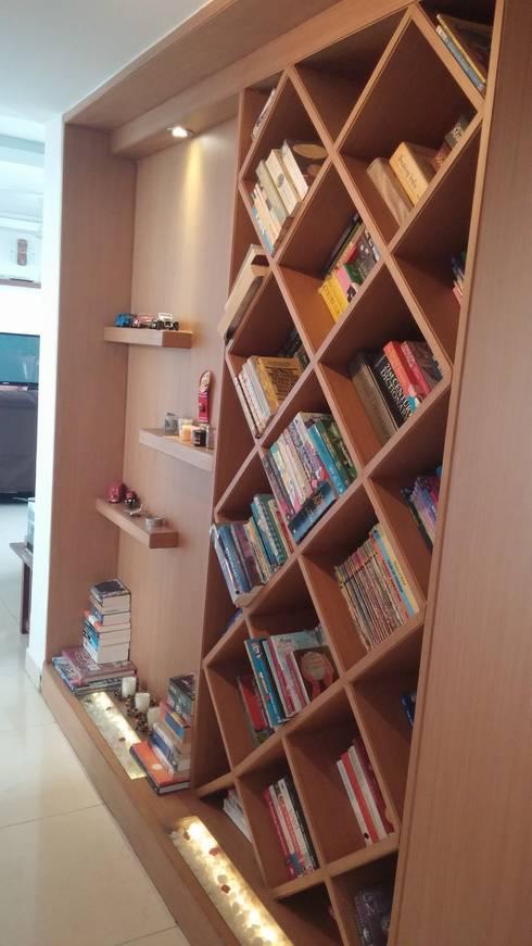Bookshelf:  Corridor & hallway by Nandita Manwani