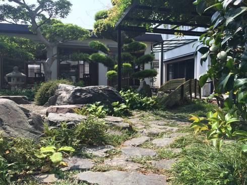 長傳寺庭園改修: ミドリカフェが手掛けたです。