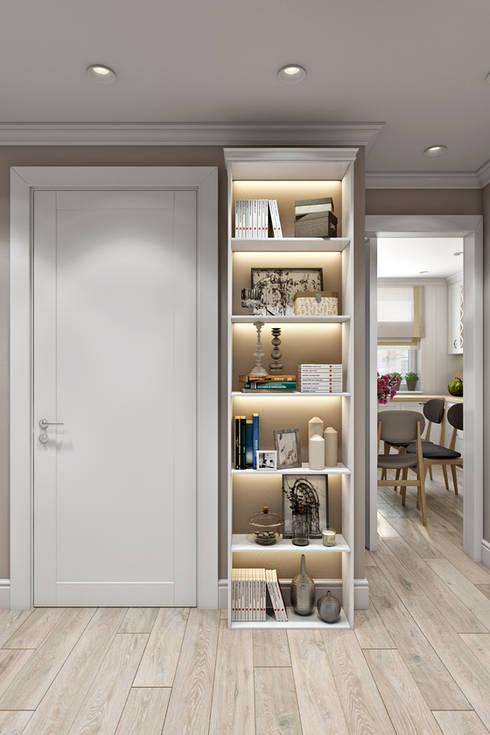 Квартира в скандинавском стиле: Коридор и прихожая в . Автор – Дарья Баранович Дизайн Интерьера