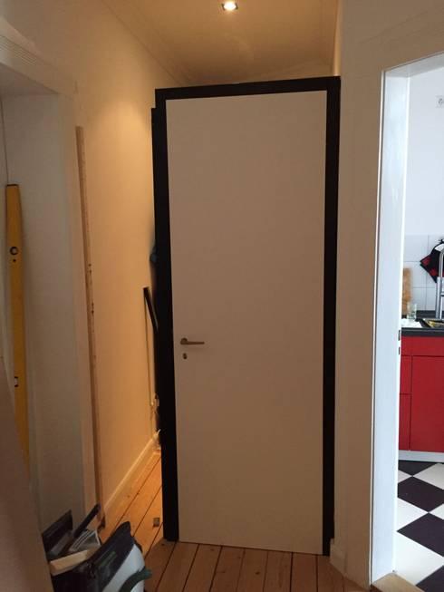 Eine Tür, eine Tür: moderne Fenster & Tür von ARTfischer Die Möbelmanufaktur.