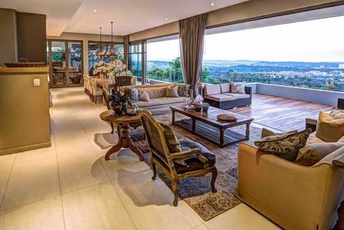 House Auriga: modern Living room by Swart & Associates Architects
