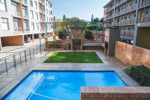129@Brooklyn: modern Pool by Swart & Associates Architects