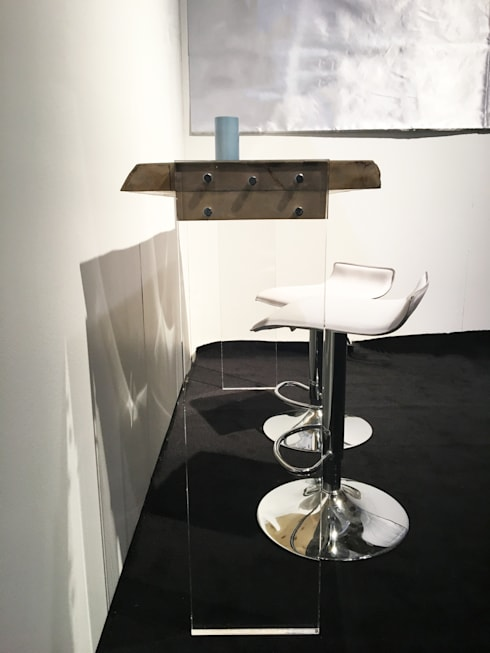 Console Mino signé Pür cachet: Maison de style  par Pür cachet