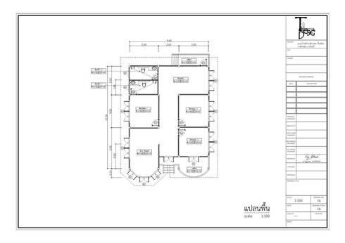 แบบบ้านเดี่ยว 3 ห้องนอน:   by th-design