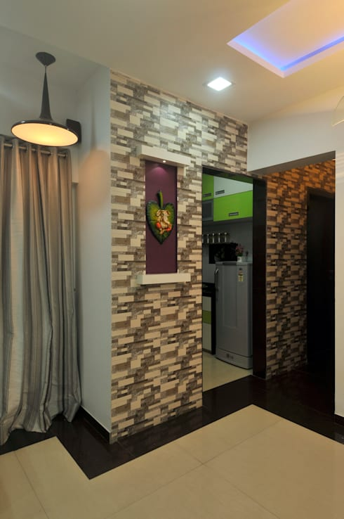 Home Interior: modern Living room by sudin patil architects