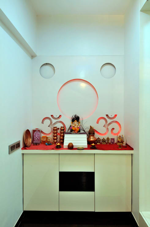 Home Interior:  Artwork by sudin patil architects