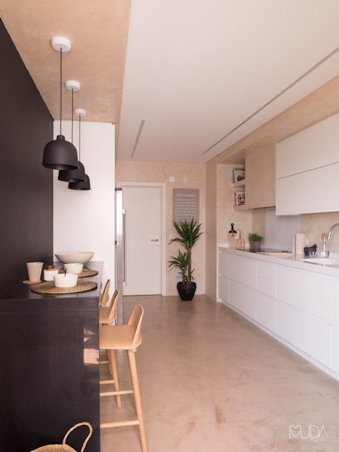 مطبخ تنفيذ MUDA Home Design