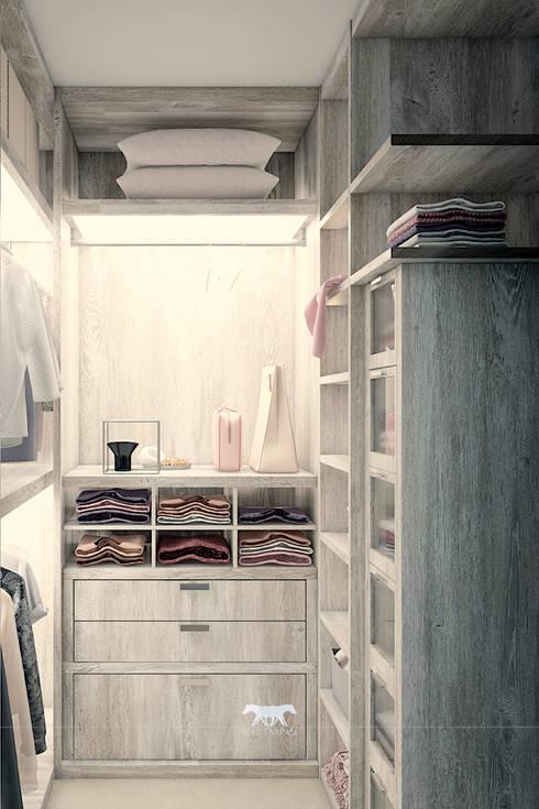 غرفة الملابس تنفيذ BLUETARPAN