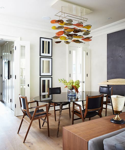 Dining Room: classic Dining room by Douglas Design Studio