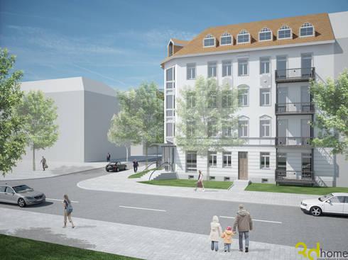 Wohnraumgestaltung in der tschaikowskistra e von for Korb architekten