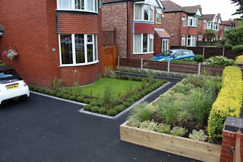 Front garden redesign by garden ninja ltd homify for Redesign my garden