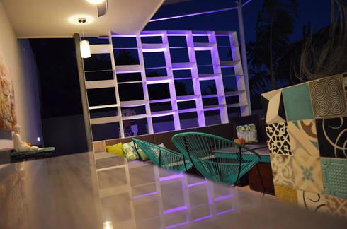 Terraza SL: Terrazas de estilo  por Workshop, diseño y construcción