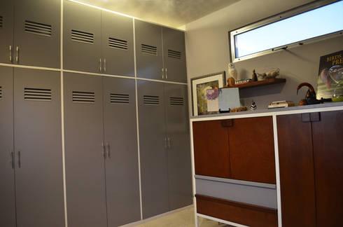 Terraza SL: Estudios y oficinas de estilo moderno por Workshop, diseño y construcción