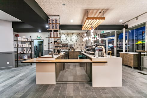 Counter area:  Bars & clubs by Alice D'Andrea Design