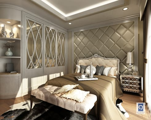 10 งานออกแบบตู้เสื้อผ้าในห้องนอน ที่ลงตัวจนคุณต้องเอ่ยชม:   by ริชวัน กรุ๊ป