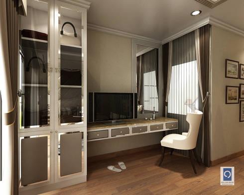 7 แบบโต๊ะเครื่องแป้งในห้องนอน ที่แฝงไว้ด้วยลูกเล่น:   by ริชวัน กรุ๊ป