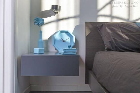 Stunning camera in stile moderno con mobili design su misura struttura letto e complementi - Complementi camera da letto ...