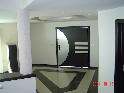 Casa Beige : Salas de estilo minimalista por SG Huerta Arquitecto Cancun