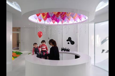 人動試驗:  嬰兒/兒童房 by 築築空間
