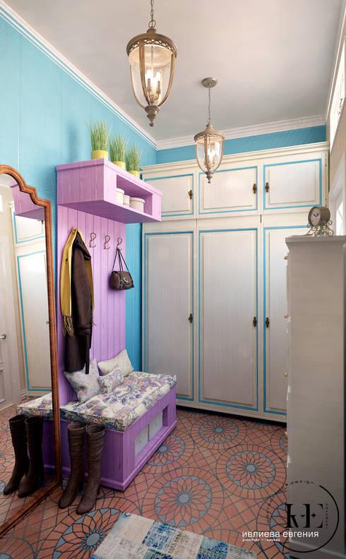 Прихожая в стиле Прованс от мастерской IvE interior: Прихожая, коридор и лестницы в . Автор – Iv-Eugenie