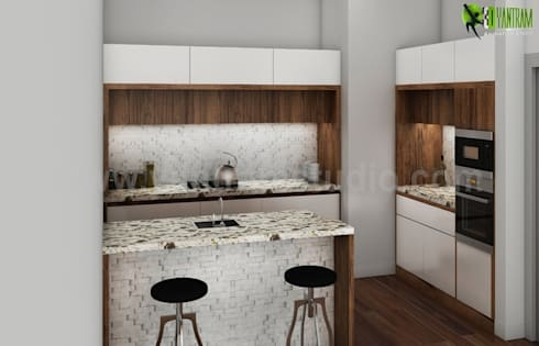 Cucina e soggiorno in un unico ambiente stili cose di casa