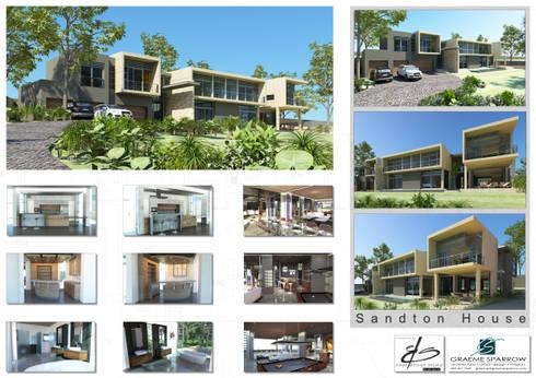 Presentation for Graeme Sparrow Architects: modern Houses by Edge Design Studio Architects