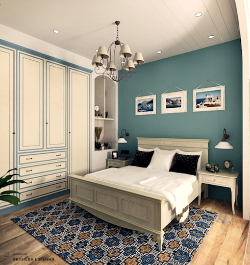 mediterranean Bedroom by Iv-Eugenie