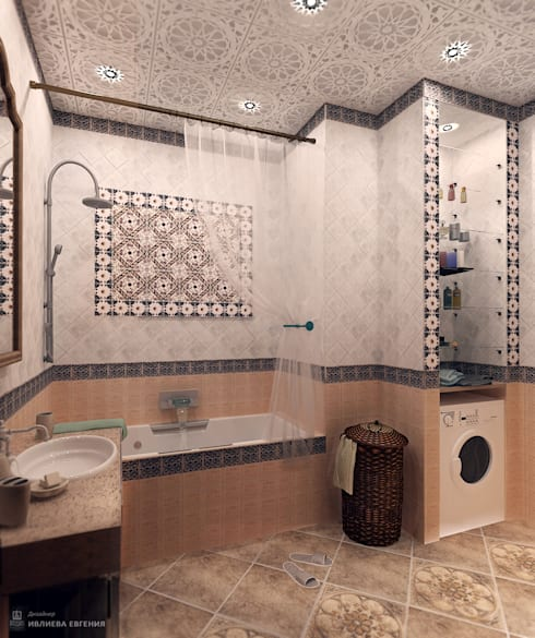 mediterranean Bathroom by Iv-Eugenie