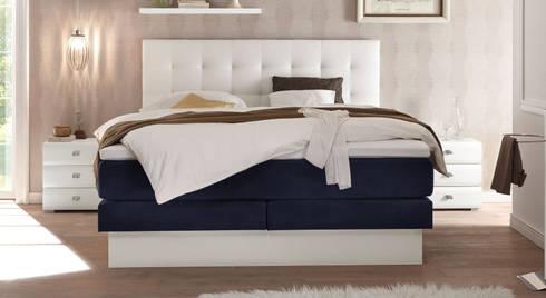 boxspringbetten mit schubkasten von homify. Black Bedroom Furniture Sets. Home Design Ideas