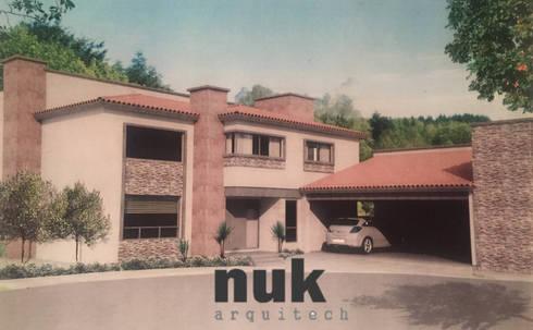 Casa Canterías II:  de estilo  por nuk arquitech