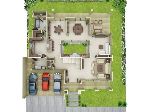 Casa Jaspe:  de estilo  por nuk arquitech