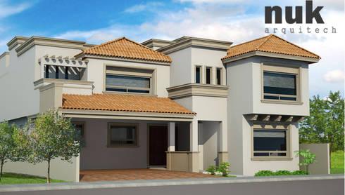 Casa Canterías I:  de estilo  por nuk arquitech
