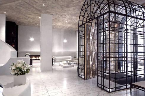 Entry - Lobby Marmara Park Avenue Hotel:  Hotels by Joe Ginsberg