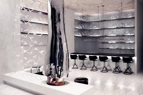 Wine Bar - Marmara Park Avenue Hotel:  Hotels by Joe Ginsberg