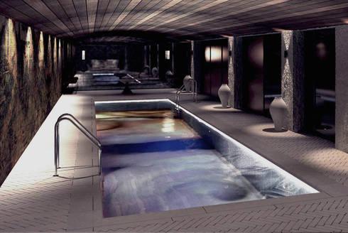 Pool - Spa Design:  Hotels by Joe Ginsberg