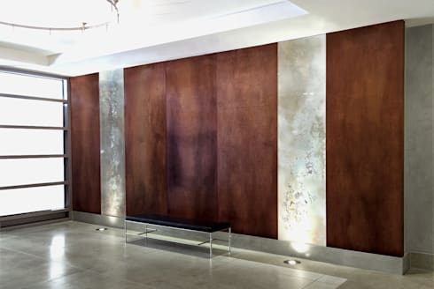 25th Street Lobby:  Office buildings by Joe Ginsberg
