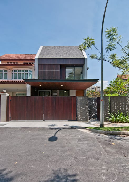 Moonbeam House: modern Houses by ming architects