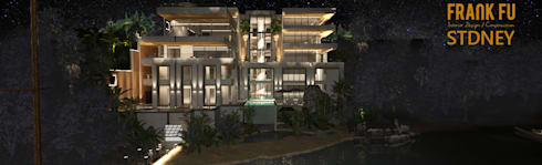 Beach House:  房子 by 中孚 設計 / FRANKFU INERIOR DESIGN