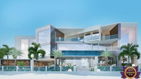 Houses in bungalows style of Katrina Antonovich: modern Houses by Luxury Antonovich Design