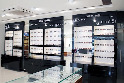 Sunglass Section:  Commercial Spaces by ServiceBELL Solutions PVT Ltd