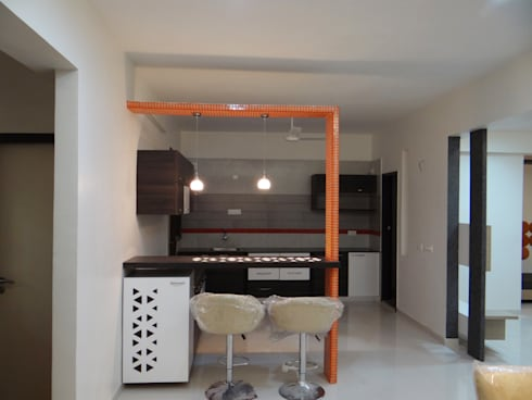 residential: modern Kitchen by aarchion architects and interior designers