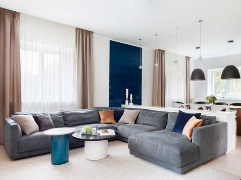 Living room: modern Living room by Telnova Julia