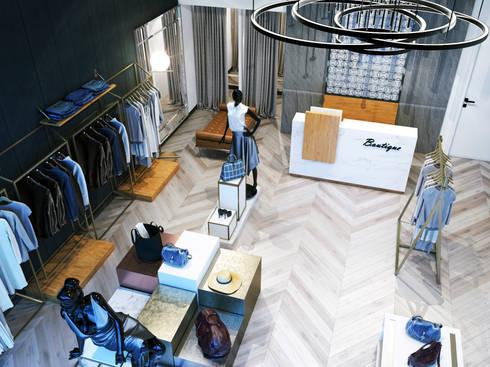 محل ملابس:  محلات تجارية تنفيذ Accurate Curves
