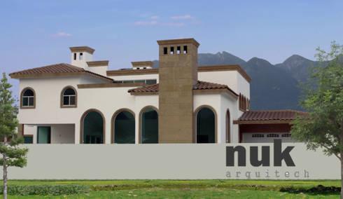 Casa Punta la Boca II:  de estilo  por nuk arquitech
