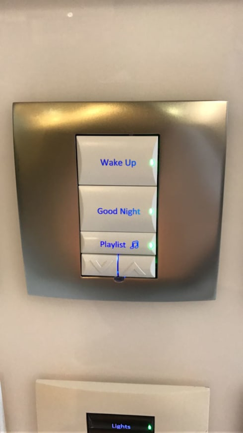 Personalized Keypad for Bedroom: minimalistic Bedroom by Home Action Party