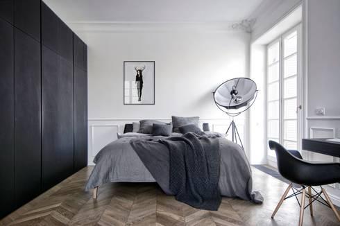 Dormitorios de estilo minimalista por INT2architecture