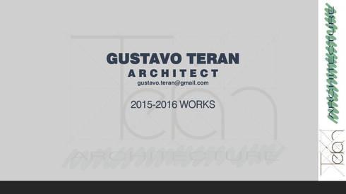 Proyectos:  de estilo  por Arq. Gustavo Teran